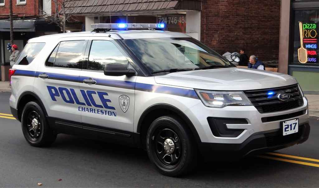 Charleston Police Cruiser