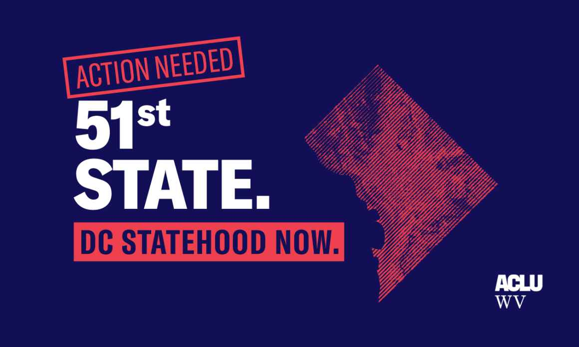 51st state. DC Statehood Now. Action Needed.