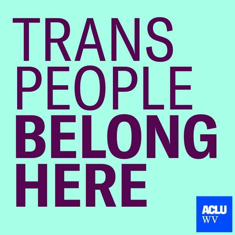 Trans People Belong Here