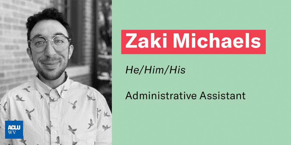Zaki Michaels, he/him/his