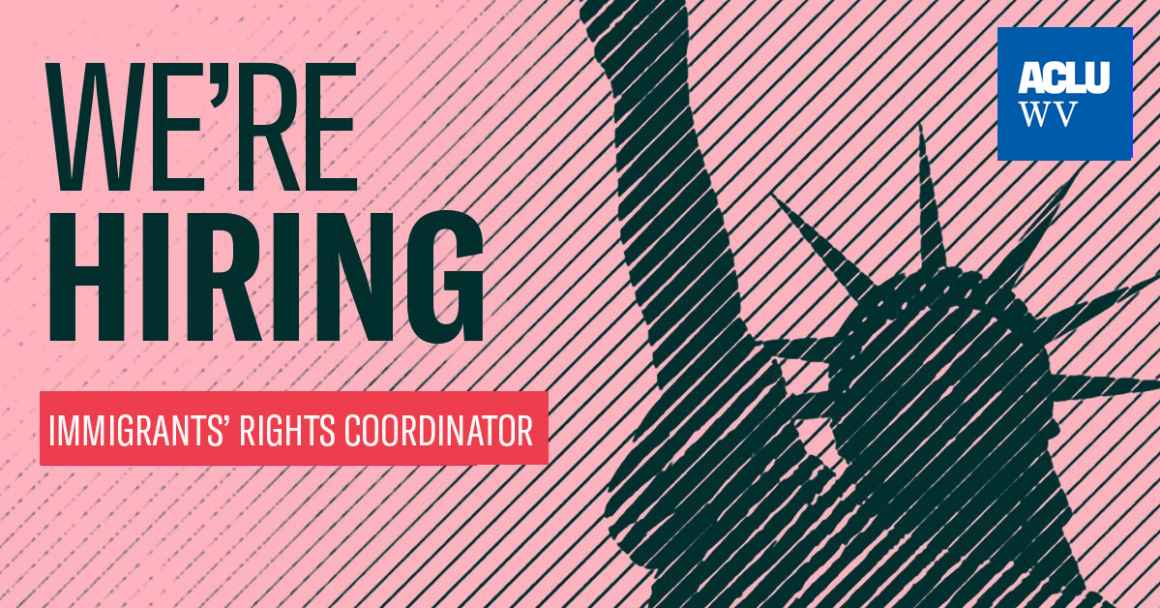 We're Hiring and Immigrants' Rights Coordinator